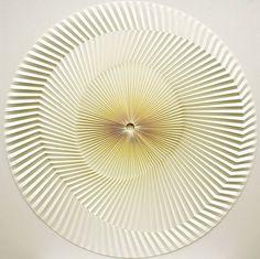 Artist Yuko Nishimura Creates Mesmerizing Geometric Patterns By Folding Paper