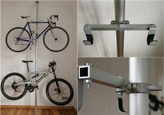Ikea / Turn Your Stripper Pole Into A Dual-Layer Bike Rack NOVEMBER 12, 2009