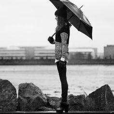 I like watching the puddles gather rain. (by Anouska Proetta Brandon) http://lookbook.nu/look/4559057-I-like-watching-the-puddles-gather-rain