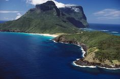 Lord Howe Island - Australia - World Heritage listed......only 400 tourists are allowed on there at a time.....