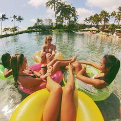 Float life.