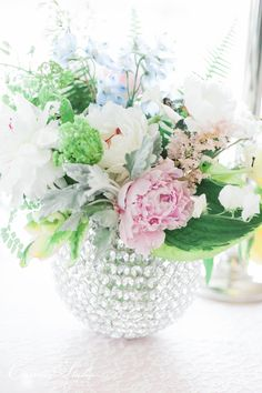 Blush + Silver Inspiration Shoot by Absolutely IN! Events, photography by Carretto Studio, florals by Bloomin' Buckets