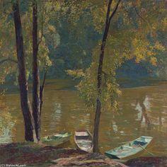 Bayou de Daniel Garber (1880-1958, United States)