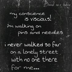 Billy Talent Lyrics - Pins and Needles