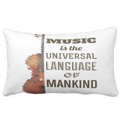 #Cotton Throw Pillow Lumbar Pillow - diy cyo customize personalize design