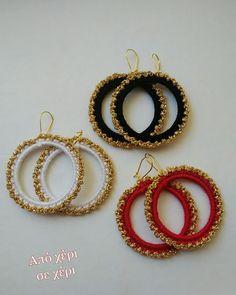 #από_χέρι_σε_χέρι #πλεκτό_κόσμημα #Κλεοπάτρα_Χρήστου #πλεκτο #κοσμημα #σκουλαρίκια #χειροποιητακοσμηματα #χειροποιητο #γυναικα #μοδα #δωρο #τεχνη #αξεσουαρ #crochetjewellery #woman #handmade #crochet #fashion #accessories #style #art #gift #girl #love #colorful #wearit #Greece #jewel #crochetearrings #lookoftheday Crochet Earrings, Hoop Earrings, Jewelry, Fashion, Moda, Jewlery, Jewerly, Fashion Styles, Schmuck