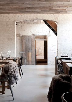 """Passport: Höst, Copenhagen (Norm Architects) Local, organic, sustainable. Restaurant Höst expresses everything that could be categorised as """"Nordic"""", and is the exquisite result of clashes: romantic yet modern, urban yet rural and rustic yet simplistic."""