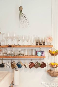Number one country kitchen tip: display your wares!