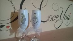 pahare pentru miri Flute, Wine Glass, Champagne, Tableware, Dinnerware, Tablewares, Flutes, Dishes, Tin Whistle