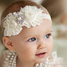 Wholesale Ivory Headband Baby girl Headband Newborn Headband Christening Headband Shabby Chic Headband Baptism Headband Baby Headbands 10PCS/LOT, Free shipping, $1.13/Piece | DHgate Mobile