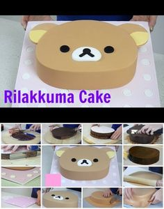 How to Make Rilakkuma Cake