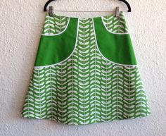 Reserved for Kim- pocketed a-line skirt Sz 6