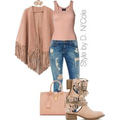 A fashion look from February 2015 featuring By Malene Birger tops, Jeffrey Campbell ankle booties and Yves Saint Laurent handbags. Browse and shop related look…