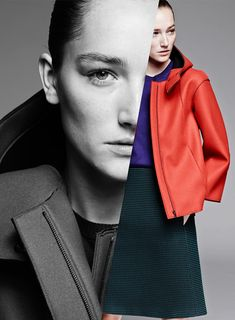 Josephine Le Tutour for Jil Sander Navy F/W 14/15 | The Fashionography
