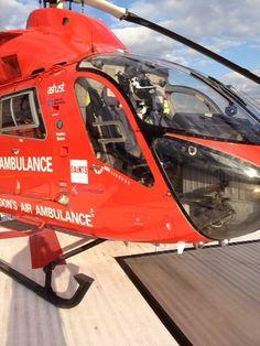 Air ambulance. Flight Paramedic. Where I hope to be one day!