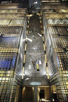 2009 Japan Tokyo Ginza - Hermes building