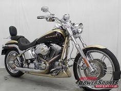 Harley-Davidson : Softail 2003 HARLEY DAVIDSON FXSTDSE SOFTAIL DEUCE SCREAMIN EAGLE
