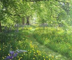 Garden at Milton Hall. Photo by Sarah Ann Johnson Garden at Milton Hall. Photo by Sarah Ann Johnson Beautiful Landscapes, Beautiful Gardens, Parks, Garden Cottage, Meadow Garden, Dream Garden, Garden Paths, Garden Tips, Pathways