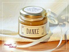 Honig - süße Gasteschenke zur Hochzeit, Kommunion, Konfirmation, Taufe oder zum Geburtstag