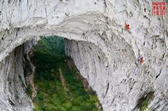 climbing in china