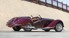 Alfa Romeo 6C 2300B Short-Chassis Spider by Touring 1939