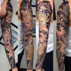 tattoo sleeve japanese men - Google-søgning