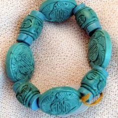 armband_01_008 Turquoise Bracelet, Bracelets, Jewelry, Semi Precious Beads, Handmade, Wristlets, Schmuck, Gifts, Jewlery