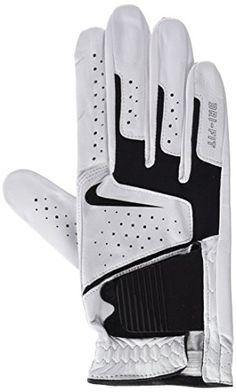 Nike GG0469 101 Dri-Fit Tech Golf Gloves, Medium-Large, White/Black/Anthracite