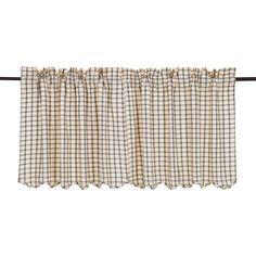 Patterson Scalloped Tier Curtain