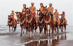 Queen's Diamond Jubilee: The Sultan of Oman's Royal Cavalry charge for the Queen  This week, 200 soldiers and 112 horses from Oman will be joining Cossacks, Masai and Huasos to perform at the Royal Windsor Horse Show for the Queen's Diamond Jubilee
