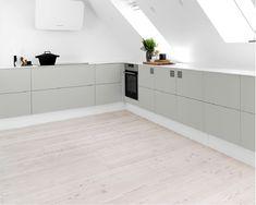 Vision-køkken i grå | Tvis Køkkener indretter