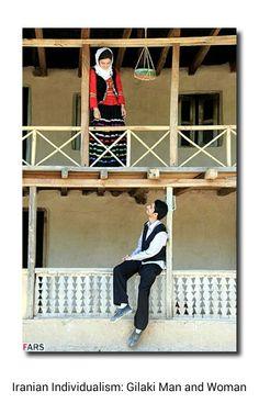 Iranian Individualism: Gilaki Man and Woman