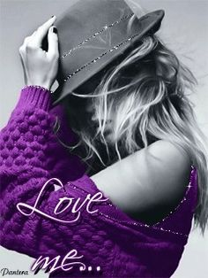 From my photo shoot ~ Красотка (Love me. Purple Love, All Things Purple, Purple Rain, Shades Of Purple, Color Splash, Color Pop, Splash Photography, Black And White Colour, Lady