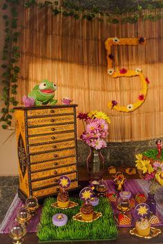 Decoração - Festa da Rapunzel