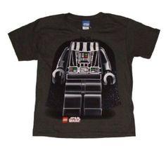 Amazon.com: Lego Star Wars Darth Vader Character Boys T-shirt: Clothing