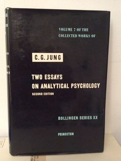 C G Jung Collected Works Vol 7 Two Essays Analytical Psych Bollingen HC DJ RARE | eBay