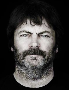 Nick Offerman - nothing better than a hottie with a sense of humor