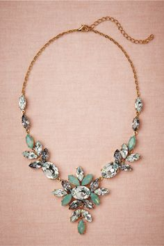 Skyfall Necklace in Bride Bridal Jewelry Necklaces at BHLDN Wedding Jewelry, Jewelry Box, Jewelery, Jewelry Accessories, Fashion Accessories, Jewelry Necklaces, Fashion Jewelry, Yoga Jewelry, Maxi Collar