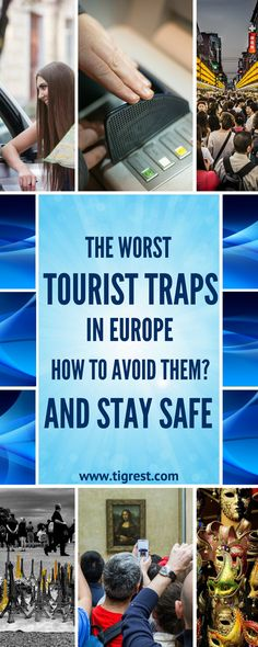 Tourist traps to avoid around Europe - what scams are popular, where you shouldn't eat out and how to keep your camera safe?Read to find out! Travel Around Europe, Europe Travel Tips, Travel Goals, Travel Advice, Travel Around The World, Travel Ideas, Traveling Tips, Travel Abroad, Travel Hacks