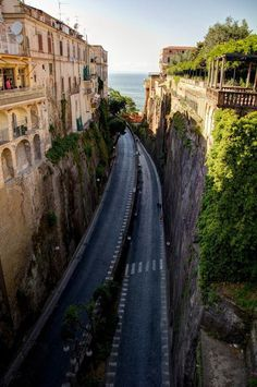 Highway to the Sea, Sorrento, Italy | The Best Travel Photos
