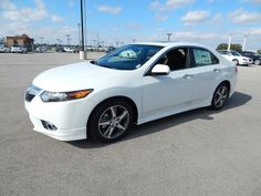 2014 Acura TSX SpecialEdition Special Edition 4dr Sedan 5A Sedan 4 Doors White for sale in Tulsa, OK Source: http://www.usedcarsgroup.com/used-acura-for-sale-in-tulsa-ok