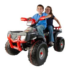 POLARIS SPORTSMAN 850. IT'S WORTH MORE BECAUSE IT GIVES YOU MORE.AGE: 6+Our new Polaris Sportsman 850 is the next vehicle your children will love. Suitable for children aged 6 and over, it combines amazing performance with guaranteed PegPerego quality.With a 24 volt rechargeable battery, gradual acc