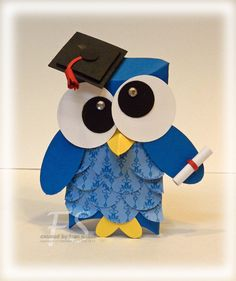 I have to make this for my oldest Godson who graduates this year.  Too cute!