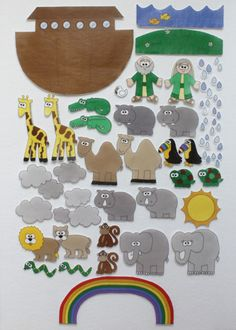 Noah's Ark Felt Figures
