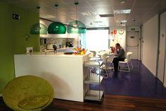 Oficinas de Yahoo! España, vía http://www.ticbeat.com/economia/oficinas-inspiradoras-innovadoras-yahoo/