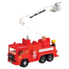 Toddlers and Toys! Toy Fire Engine Truck from Educational Toys Planet