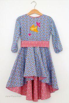 lillesol & pelle Schnittmuster/ Pattern: Festtagskleid Girls Hi-lo dress pattern (German): http://www.lillesolundpelle.de/epages/63406511.sf/de_DE/?ObjectPath=/Shops/63406511/Products/ls6