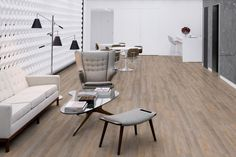 Hydrocork Flooring by Wicanders. Proudly distributed in NZ by Quantum. Why cork? A lifetime guarantee on an eco-friendly solution that is waterproof and tested for quiet and comfort. Floating Floor, Cork Flooring, Grey Oak, Carpet Tiles, Alaska, Eco Friendly, Dining Table, Furniture, Home Decor