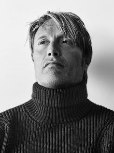 Mads Mikkelsen (BRYAN ADAMS PHOTOGRAPHY / Zoo Magazine)