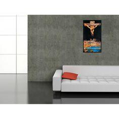 DALÌ - La santificazione di Giovanni attraverso Cristo, 1951 41x73 cm #artprints #interior #design #art #print #iloveart #followart  Scopri Descrizione e Prezzo http://www.artopweb.com/categorie/arte-moderna/EC15138